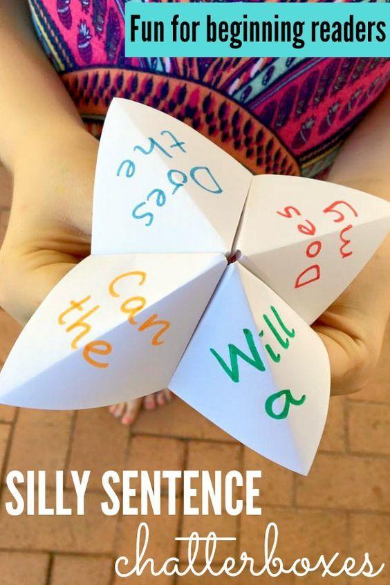 Sentence maker for words