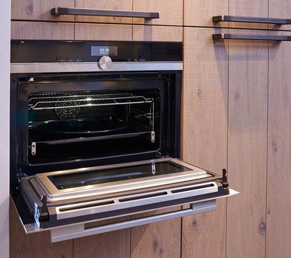 Kastenwand Met Siemens Combi Magnetron Keukens Keuken