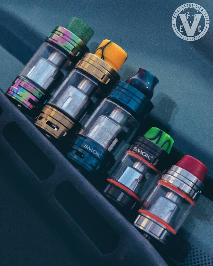 Check out the Smok TFV8 Family of beast tanks taking a group picture. Swing by the EVCigarettes website to view our selection of attys and drip tips to give yours a unique look. We also just lowered prices of the full sized Smok TFV8 Cloud Beast, which is http://canadaejuice.com