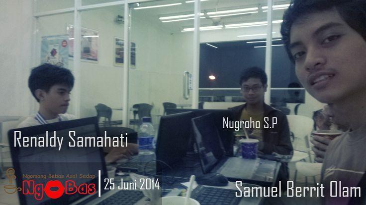 Meetup Ngobas pada tanggal 25 Juni 2014