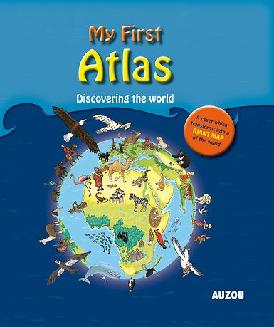 #atlas #geography #world   This is an entertaining atlas to help children discover the world's continents. Readers will learn about the various kinds of animals, flowers, and plants that exist in other areas of the world, the stories of other countries, and the lifestyle of the peoples living there.
