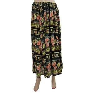 "Bohemian Trendy Womens Black Pink Long Skirt Hippie Boho Gypsy Cotton Skirt 35""l (Apparel)  http://www.amazon.com/dp/B007P2KZYC/?tag=http://howtogetfaster.co.uk/jenks.php?p=B007P2KZYC  B007P2KZYC"