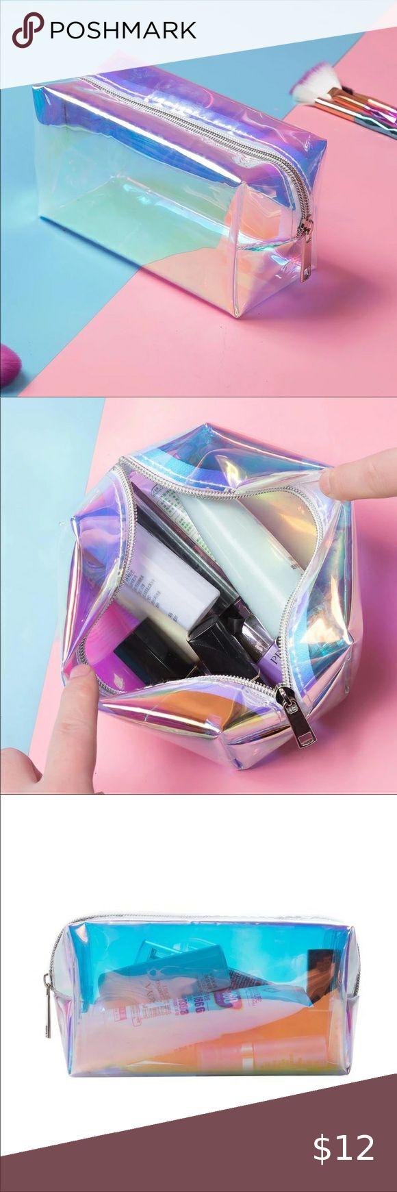 Iridescent Cosmetic Bag in 2020 Cosmetic bag, Bags
