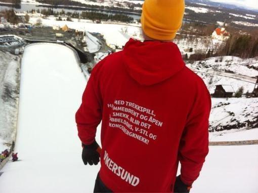 VM i Vikersund 2012 kuratert av Nadia K Tokerud