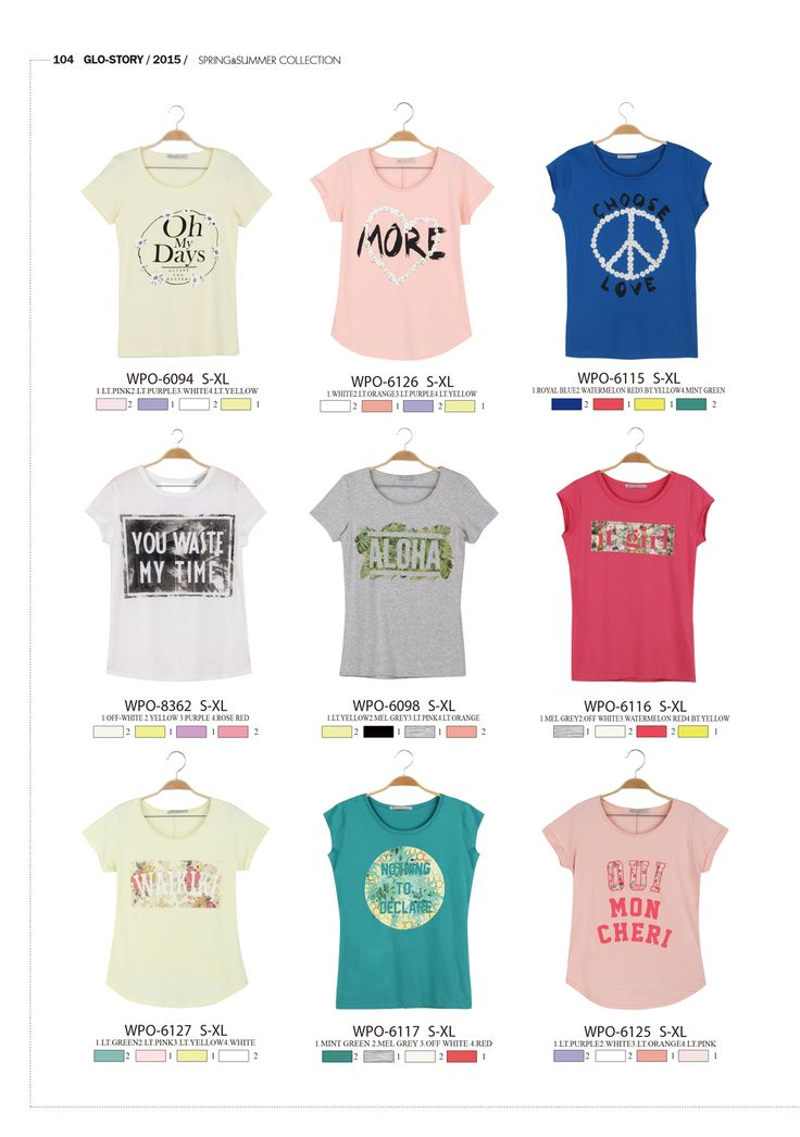 #forwomen #clothing #fashion #glostory #grey #white #fortraining #everydaywear #printed #tshirts #pink #blue #tropical #icecreamcolours