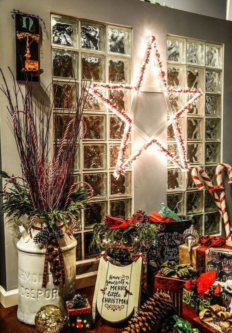 diy lighted christmas stars, christmas decorations, crafts, flooring