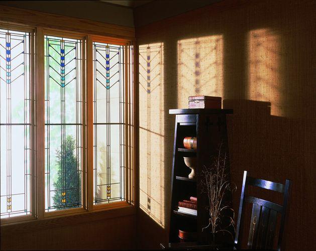 16 best frank lloyd wright images on pinterest frank for Andersen windows art glass