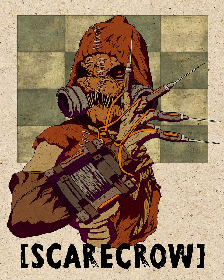 Scarecrow from Batman: Arkham Asylum