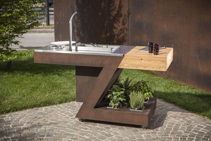 41 best Outdoor kitchen images on Pinterest Outdoor cooking - edelstahl outdoor küche