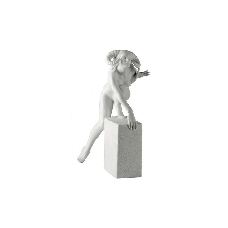 Znaki zodiaku - Baran - wersja kobieca, biała - Manufaktura Stylu