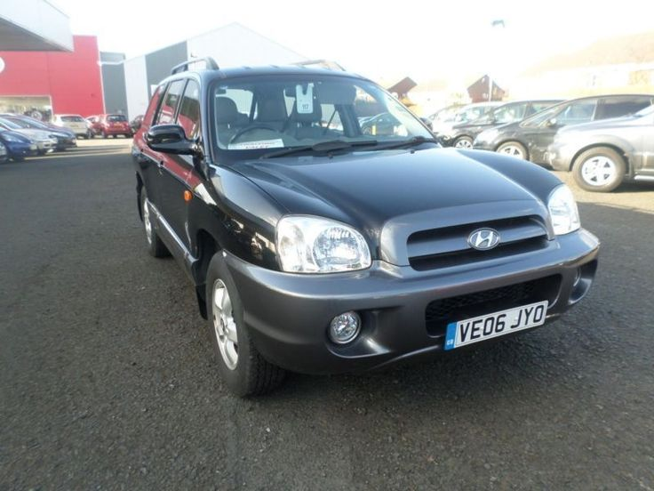Hyundai Santa FE CDX 2.4 PETROL, MANUAL, ESTATE, 5 DOOR, BLACK, 2006 on Gumtree. Immobiliser, ABS(Anti-Lock Brakes), Power-Assisted Steering, Cruise Control, Body Coloured Bumpers,