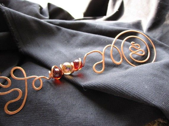 Copper Bubble Wand With Marbles Copper Bubble Wands And