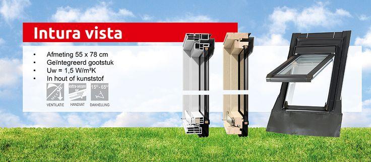 Intura Vista: klein dakraam ook ideaal voor renovatie - Intura dakramen