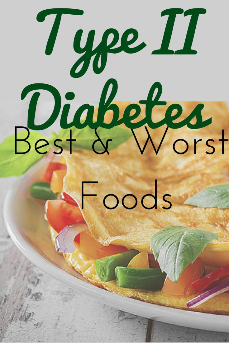 The Best and Worst Foods to Eat in a Type 2 Diabetes Diet