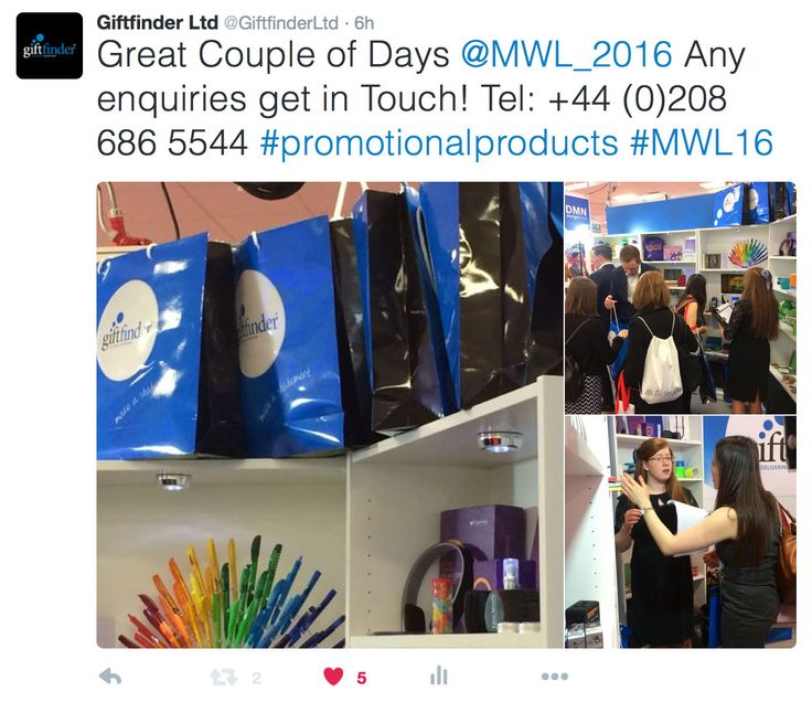 Awesome Couple of Days at Olympia London for ‪#‎MWL16‬ #promotional #merchandise #branding #advertising #promotionalproducts #logo #design #lovemerch