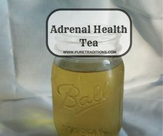 For those who suffer with Adrenal Fatigue, energy and stamina is not something you have. I have been suffering for awhile now with Adrenal Fatigue, and one day I was so tired (literally) of barely getting by that I decided to experiment with some herbs and make a tea. What I found was a tea…