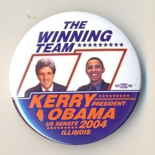 John Kerry/Barack Obama coattail, 2004