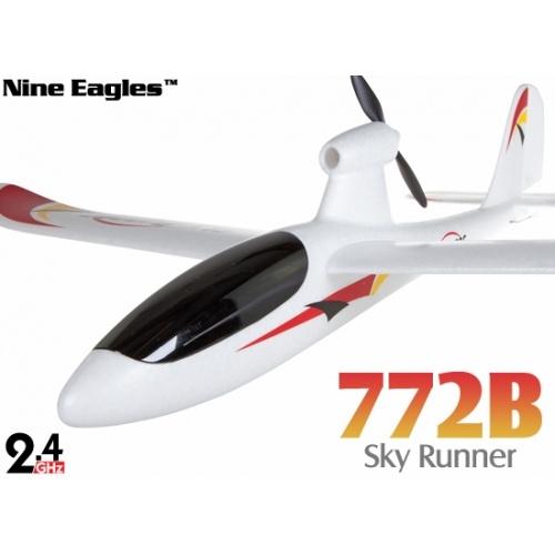 Nine Eagles 772B Sky Runner 2.4G 3ch Plane RTF Set $85.99