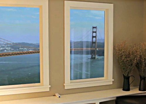 Faux window decor guide design ideas storage saving Fake window for basement