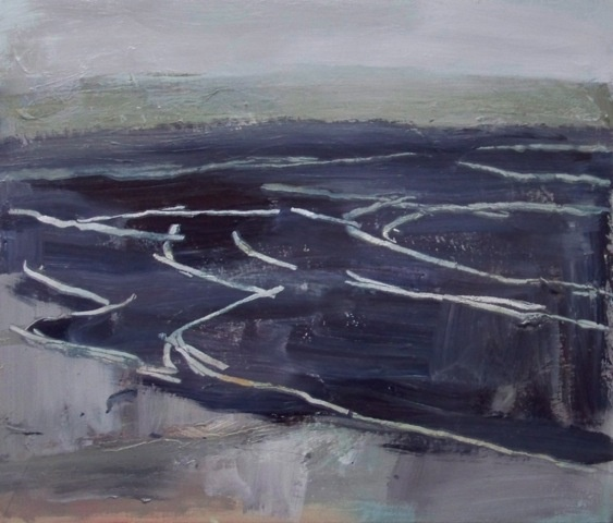Simon Carter, 'Dark Sea', (2012). Marmite Prize for Painting IV