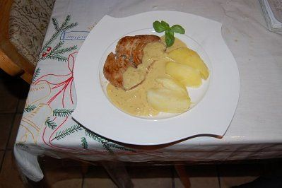 Thunfisch-Steak mit Dijonsenf-Sauce und Salzkartoffeln Rezept - Rezepte kochen - kochbar.de