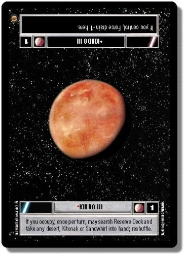 Planets from Star Wars CCG sets by diewannawanga @eBay