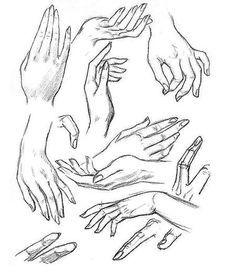 Как рисовать руки карандашом поэтапно. Уроки рисования онлайн - Уроки рисования - Полезное на ARTSphera