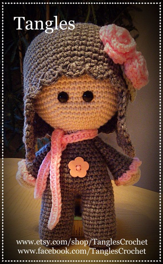Heather Rose Big Head Baby Doll Made To Order