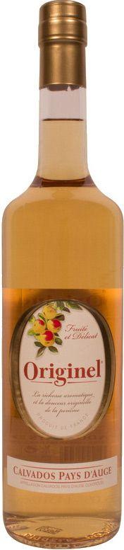 Diesen Calvados Pays D'Auge Originel bekommen Sie hier im geprüften Spirituosen Online Shop.Calvados Pays D'Auge Originel wird aus Äpfeln hergestellt und ist sü