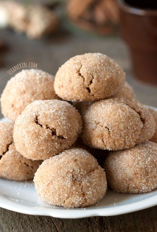 These chai spiced cookies are naturally sweetened and grain-free, gluten-free and dairy-free! Awesomely soft and chewy, too.