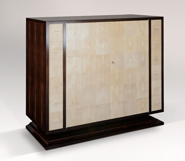 Low Cabinet In Shagreen U0026 Macassar Ebony See More Cabinets U0026 Armoires By  Atelier Viollet: