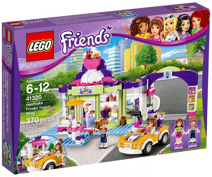 LEGO Friends 41320 : Le magasin de yaourt glacé - Juin 2017