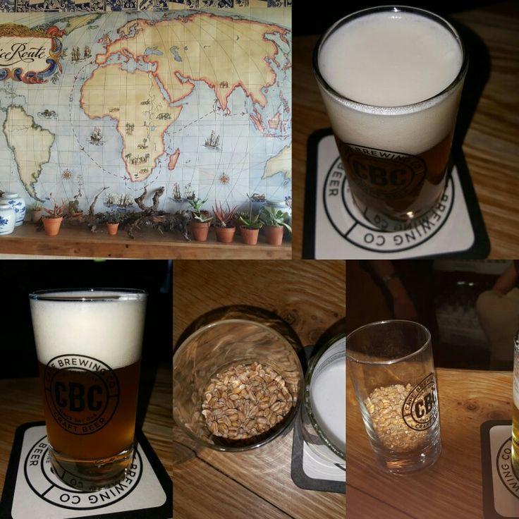 Beer tasting, spice route paarl