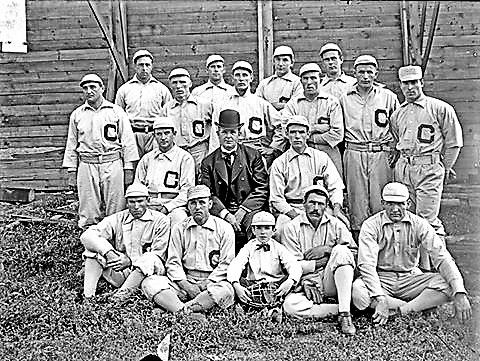 1901 - Birth of the White Sox  Opening Day at South Side Park  Wednesday 4/24 - The Chicago White Stockings take the field for the first time as a Major League franchise when the American League's inaugural season opens. They beat the Cleveland Blue Birds 8-2. The White Stockings of 1901 are known today as the Chicago White Sox.