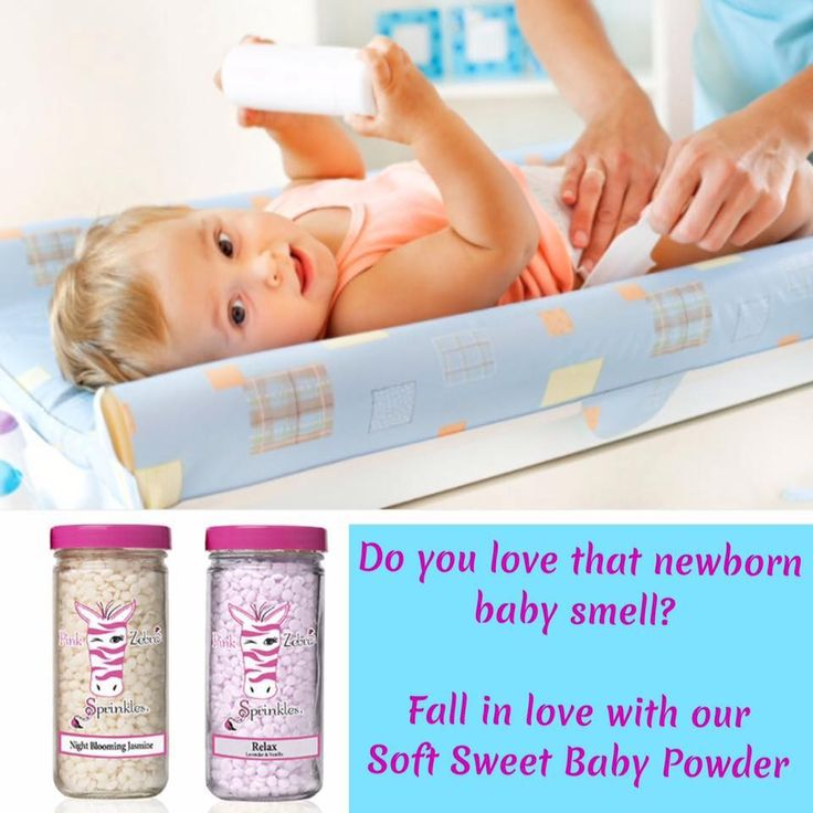The scent of Baby Powder. Mix equal amounts of Pink Zebra Night Blooming Jasmine Sprinkles and Relax Sprinkles.  http://sprinklingofsprinkles.com