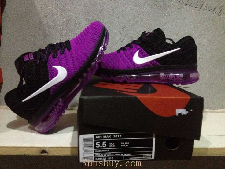 womens nike air max 2017 purple and black nz