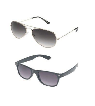 Combo Aviator & Wayfarer Sunglasses @ Rs 199