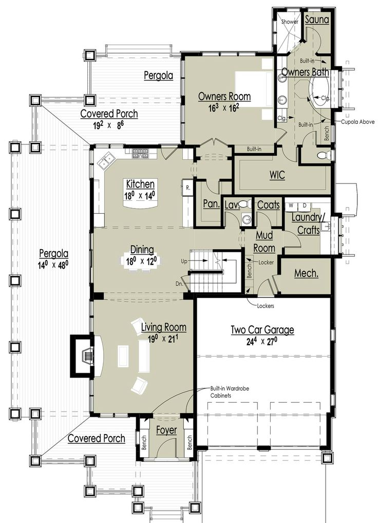 Traditional Style House Plan   4 Beds 3.50 Baths 3187 Sq/Ft Plan #437 56