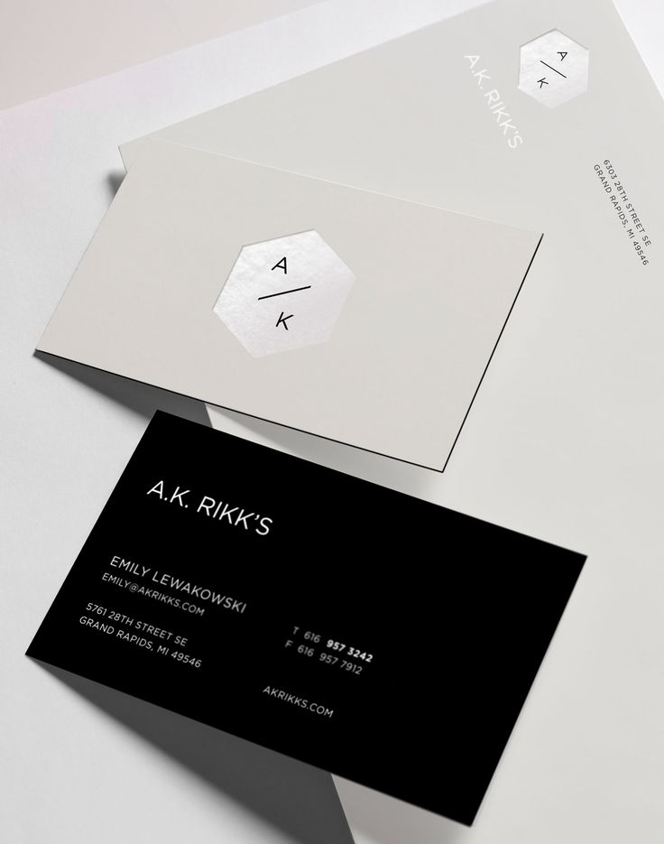A.K. Rikk's Branding