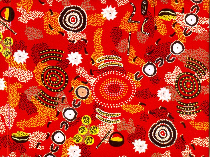 Aboriginal design Wrapping Paper Dancing Place by Peter Marshall 90cm x 56cm $3.00 each
