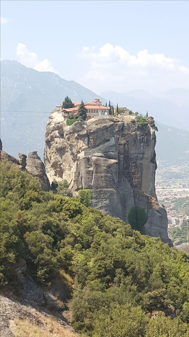 Een van kloosters bij Meteora