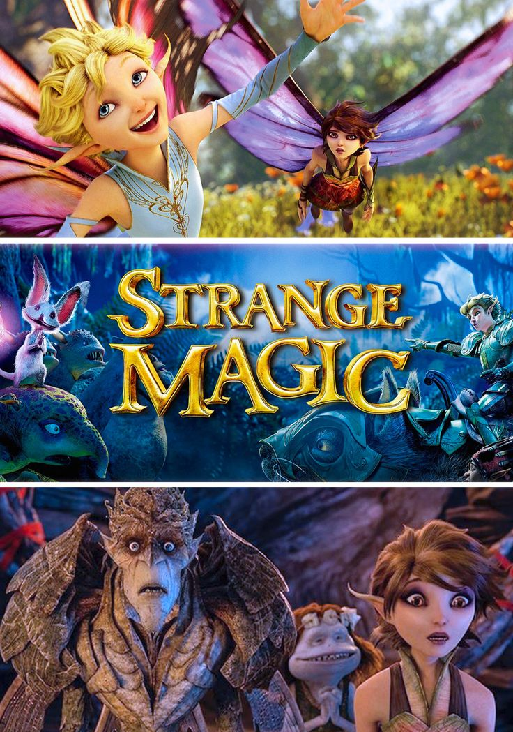 Strange Magic (2015) FULL MOVIE. Click images to watch this movie