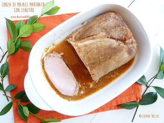 Kucina di Kiara: Slow Cook: Lonza di maiale marinata con zenzero