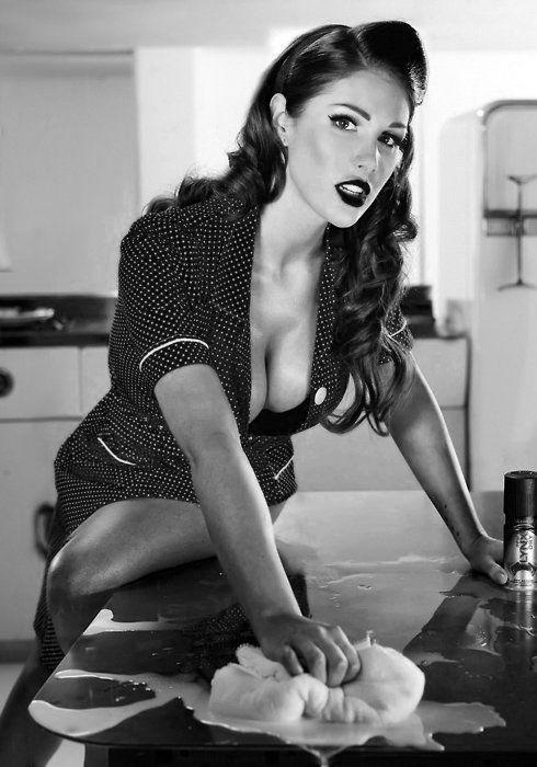 #Sexy #pinup girl