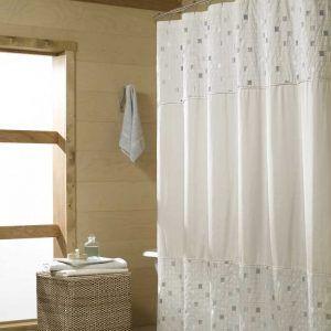 Modern Fabric Shower Curtains