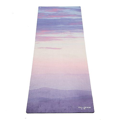 Luxury Sweat Grip Mat Towel: The Combo Yoga Mat 1.5mm. Luxurious, Non-slip, Foldable