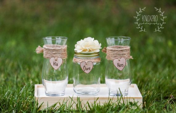 Personalized Rustic Wedding Unity Sand by KnoxProPhotography