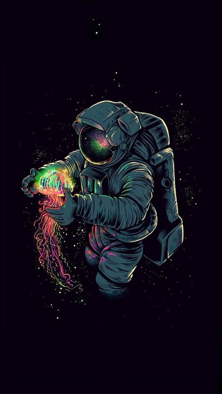 Download Spaceman Wallpaper By Ryan7flash Now Browse Millions Of Popular Ball Wallpapers And Ringtones On Astronaut Wallpaper Trippy Wallpaper Wallpaper Space