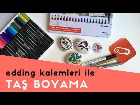 Video: edding keçeli kalemler ile taş nasıl boyanır? – 10marifet.org