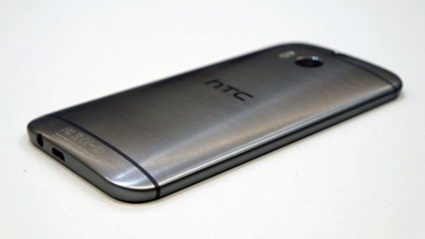 HTC ONE (M8), brushed aluminium back